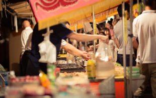 平塚七夕祭りライトアップと屋台は何時から?おすすめグルメはこれ!