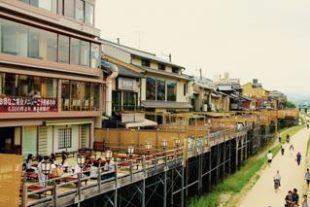 京都の川床は鴨川でランチ!3000円台で食べられる安い店~先斗町編~