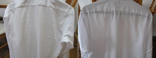 ワイシャツがアイロンなしでもシワにならない洗い方と干し方を実験!