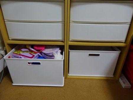 カラーボックスを使った収納をリビングで!おもちゃも入れてる我が家の場合