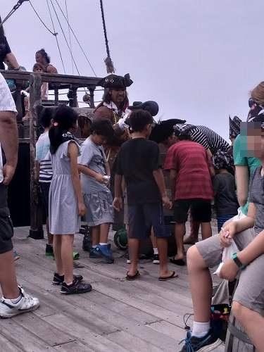 ハワイの海賊船ツアー