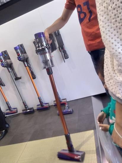 ジアウトレット広島のダイソンのお店の雰囲気は?実際の画像あり