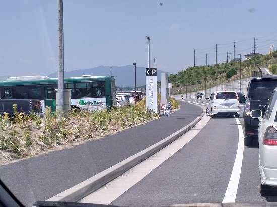 ジアウトレット広島の駐車場は土日は混雑してる?休日に行ってみた!