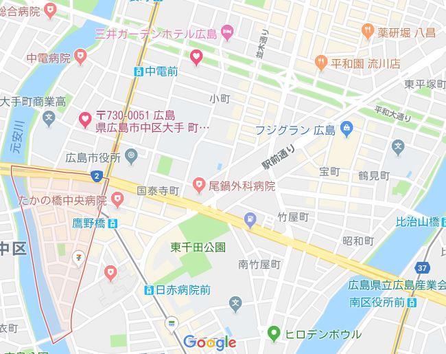 広島ドリミネーションの駐車場で安いおすすめな穴場は?市民が教える!